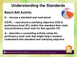understanding the standards1