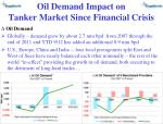 oil demand impact on tanker market since financial crisis1