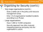 organising for security cont d2