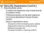 security awareness cont d12
