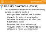security awareness cont d3