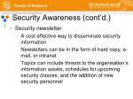 security awareness cont d9