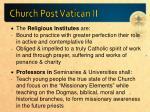 church post vatican ii2