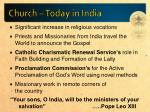 church today in india1