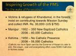 inspiring growth of the pms in the wake of persecution2