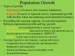 population growth1