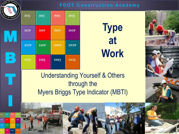 understanding yourself others through the myers briggs type indicator mbti n.