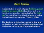 gaze control1