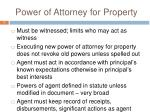 power of attorney for property1