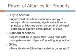 power of attorney for property2