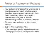power of attorney for property3