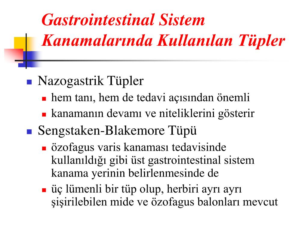 Ppt Gastrointestinal Sistem Kanamalari Powerpoint