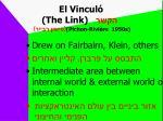 el vincul the link pichon rivi re 1950s