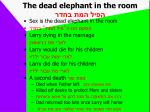 the dead elephant in the room