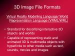 3d image file formats