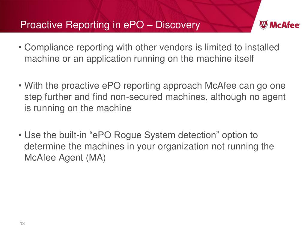 PPT - McAfee Data Protection PowerPoint Presentation - ID