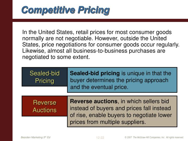 competitive and pricing strategies of centre The price you charge for products or services says a lot about your company's competitive ways here's how to do it right.