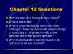 chapter 12 questions