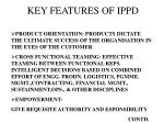 key features of ippd