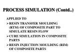 process simulation contd