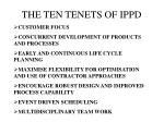 the ten tenets of ippd