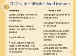 cico with individual ized features1