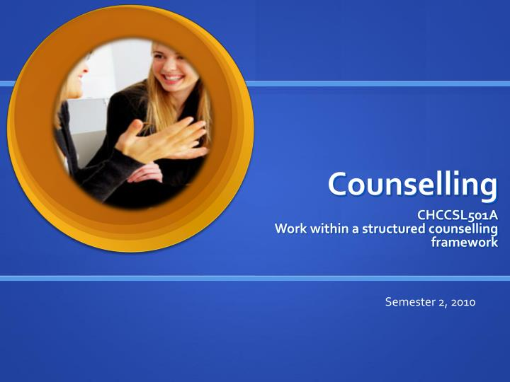 counselling n.
