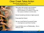 clear creek takes action wednesday september 21 2005 protecting district assets