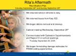 rita s aftermath reunification plan saturday september 24 th and sunday september 25 th1