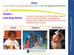 modes learning styles