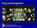 drug lab recognition1