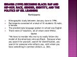 ibrahim 1999 becoming black rap and hip hop race gender identity and the politics of esl learning1