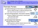 distribution geospatial data portals2