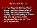 galacia 5 13 17