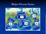 major ocean gyres