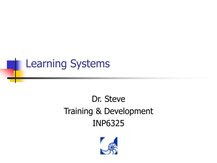 learning systems n.
