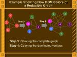 example showing how dom colors of a reducible graph1