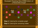 example showing how dom colors of a reducible graph3