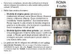 roma il culto
