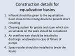 construction details for equalization basins