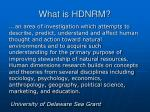 what is hdnrm1