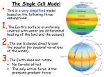 the single cell model