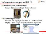 infrastructure supported ca 2