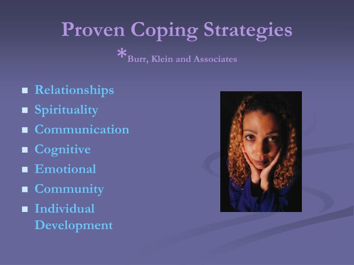 Proven Coping Strategies