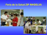 feria de la salud zip inhdelva