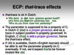 ecp that trace effects2