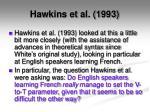 hawkins et al 1993