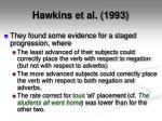 hawkins et al 19931