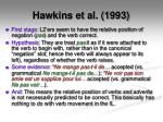 hawkins et al 19933
