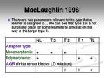 maclaughlin 19984